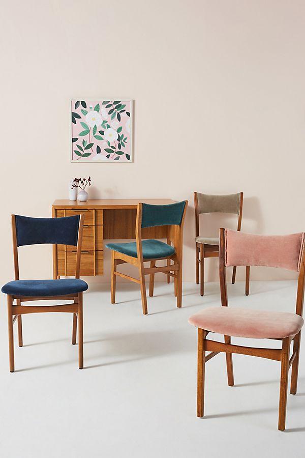 Slide View: 1: Velvet January Chair