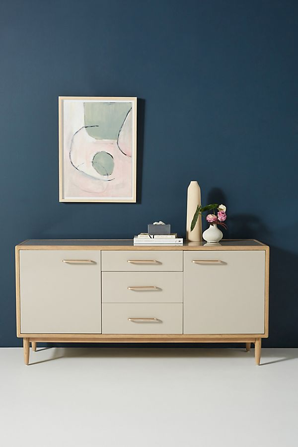 Slide View: 1: Francis Lacquered Sideboard