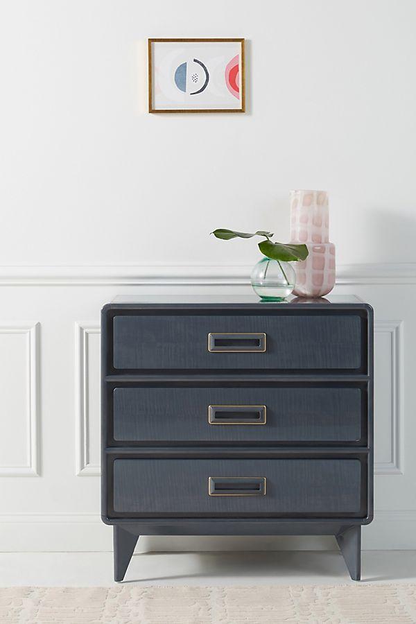 Slide View: 1: Barquette Three-Drawer Dresser