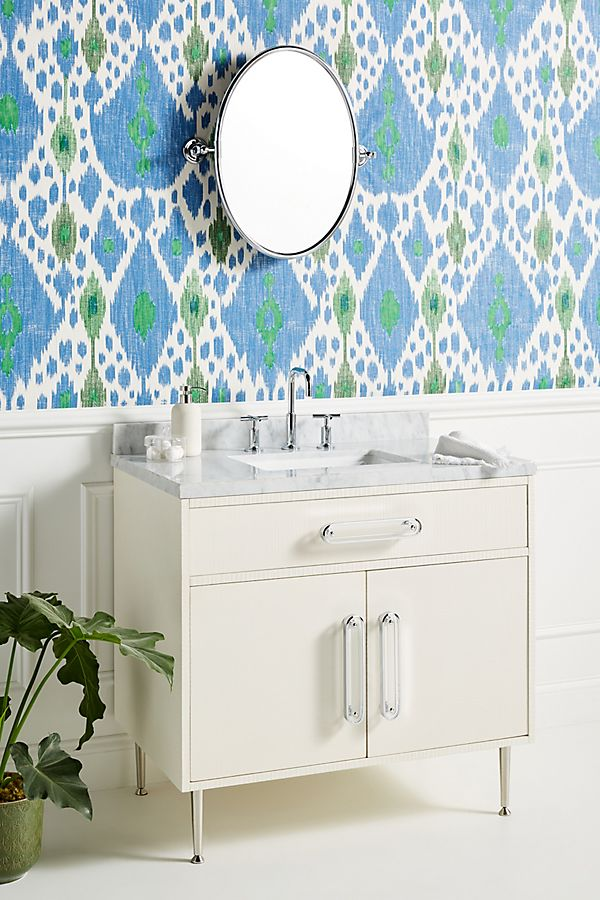 Slide View: 1: Odetta Single Bathroom Vanity