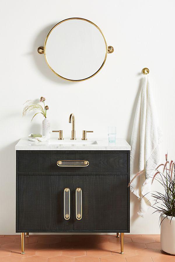 Slide View: 1: Odetta Single Bathroom Vanity