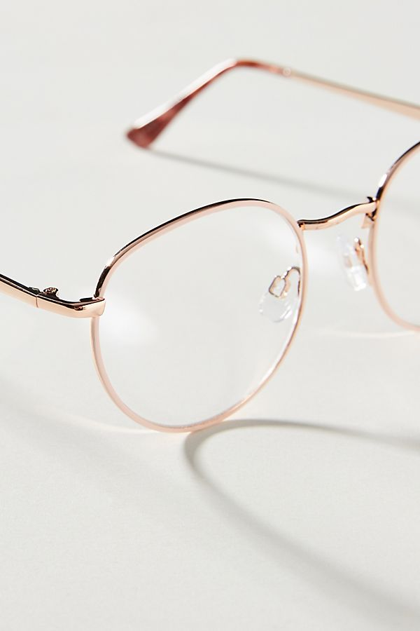 9bc07176dd2f ZiGi + MARAiS Roxy Round Reading Glasses   Anthropologie