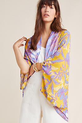 Slide View: 1: Voyager Cocoon Kimono