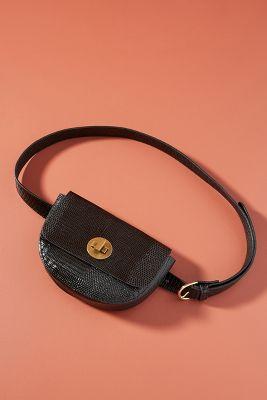 Aria Foldover Belt Bag by Linea Pelle