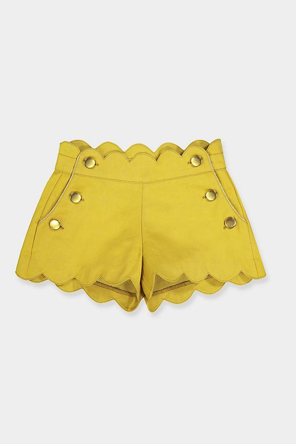 Slide View: 1: Petite Lucette Berthe Shorts