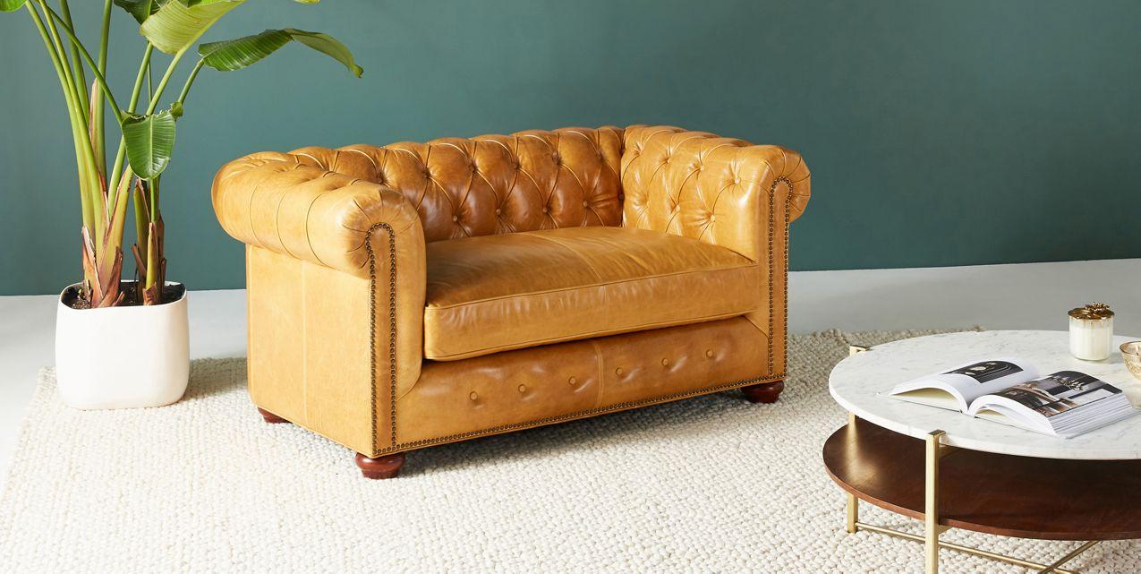 Super Leather Dulcimer Petite Chesterfield Loveseat Forskolin Free Trial Chair Design Images Forskolin Free Trialorg