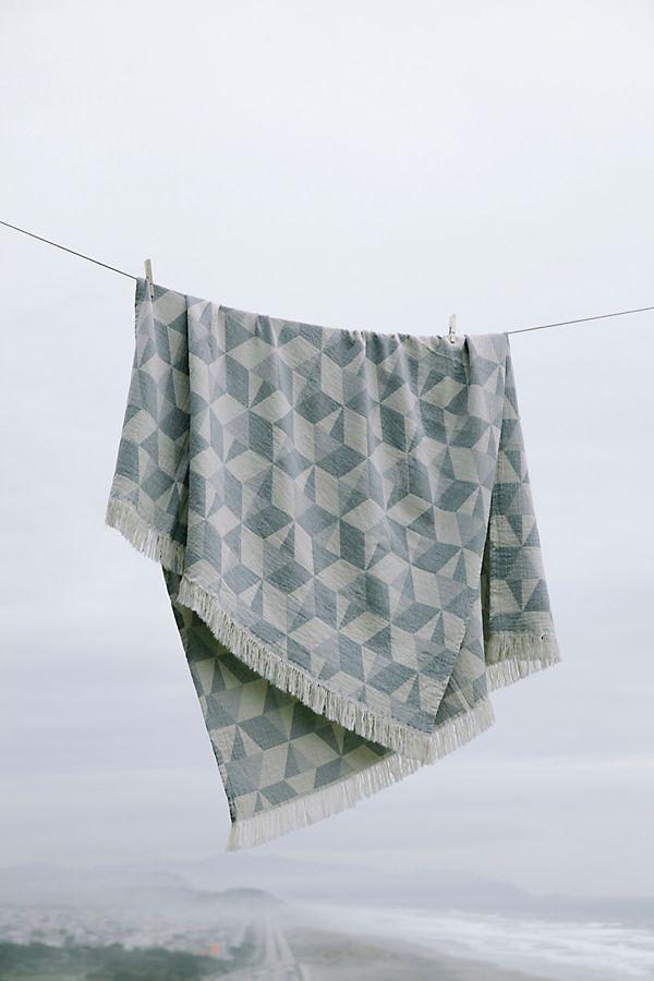 Slide View: 2: Coyuchi Pismo Organic Blanket