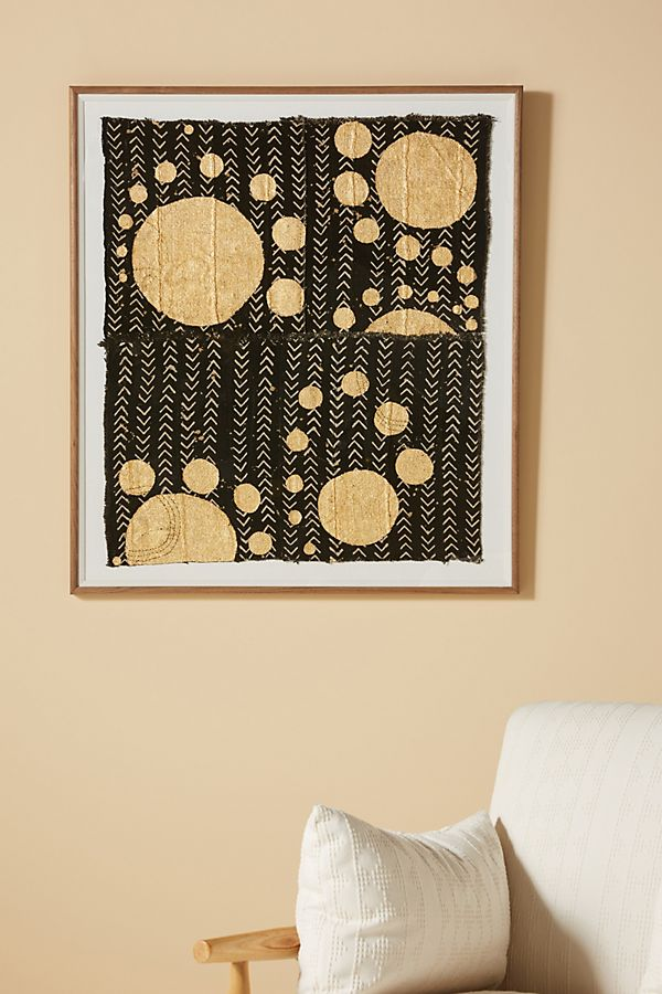Slide View: 1: Galileo: Onyx Textile Wall Art