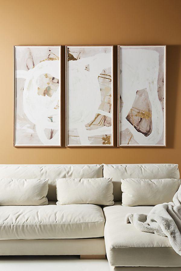 Slide View: 1: Bergman 2 Triptych Wall Art