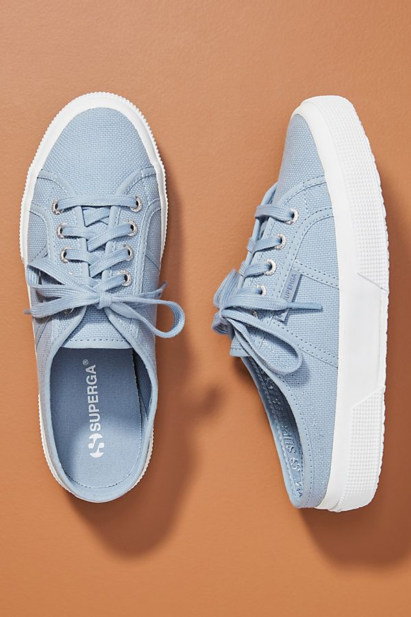Slide View: 1: Superga Classic Slip-On Sneakers