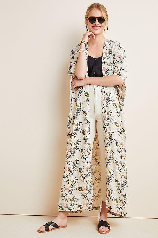 Slide View: 1: Sadie Duster Kimono