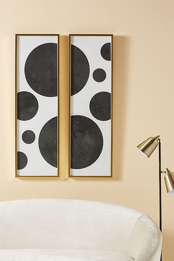 Slide View: 1: Graphic Adornment Wall Art