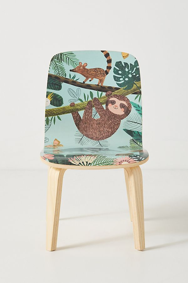 Slide View: 1: Rebecca Jones Tropical Tamsin Kids Chair