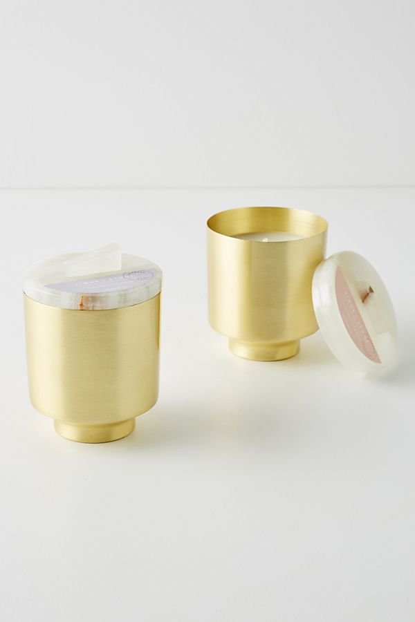 Slide View: 3: Tique & Stone Jar Candle