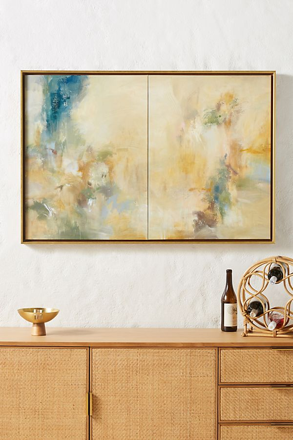Slide View: 1: Tuscan Spring III Wall Art