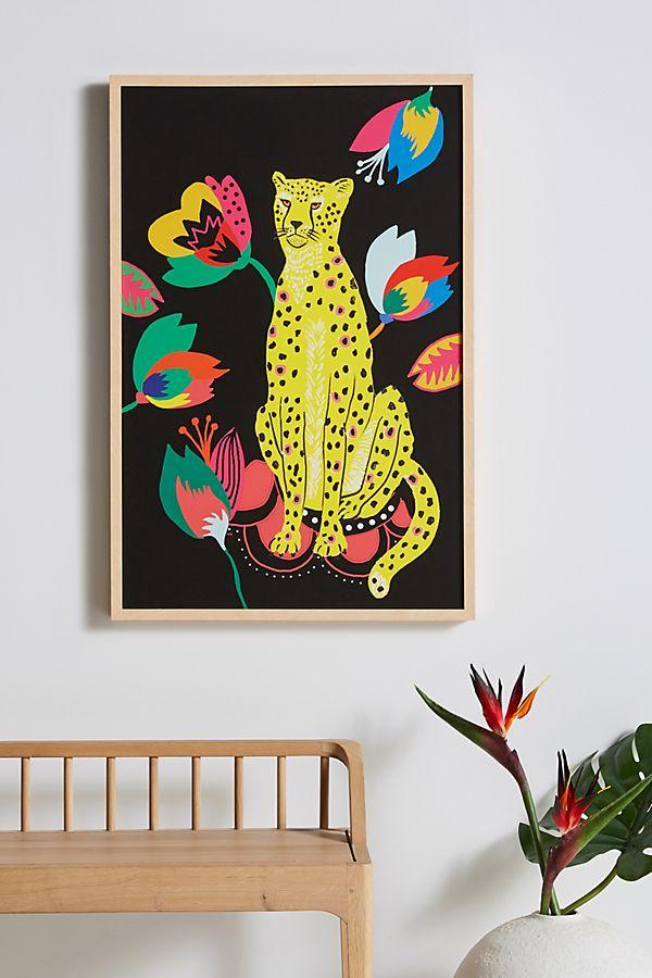Slide View: 1: Cheetah's Wild Life Wall Art