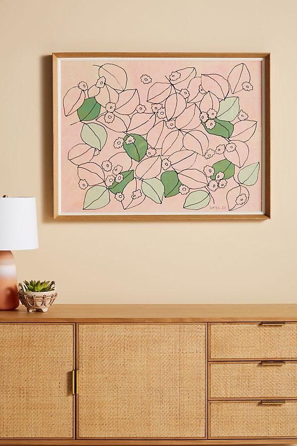 Slide View: 1: Jasmine Wall Art