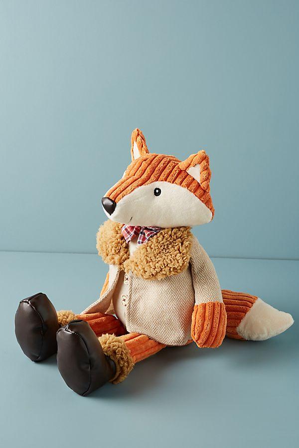 Slide View: 1: Fabrizio The Fox Stuffed Animal