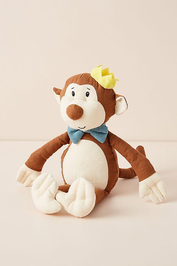 Slide View: 1: Mason the Monkey Stuffed Animal