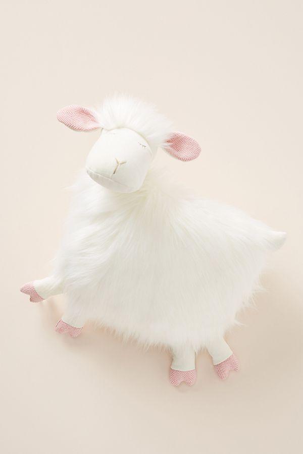 Slide View: 1: Sheila the Sheep Stuffed Animal