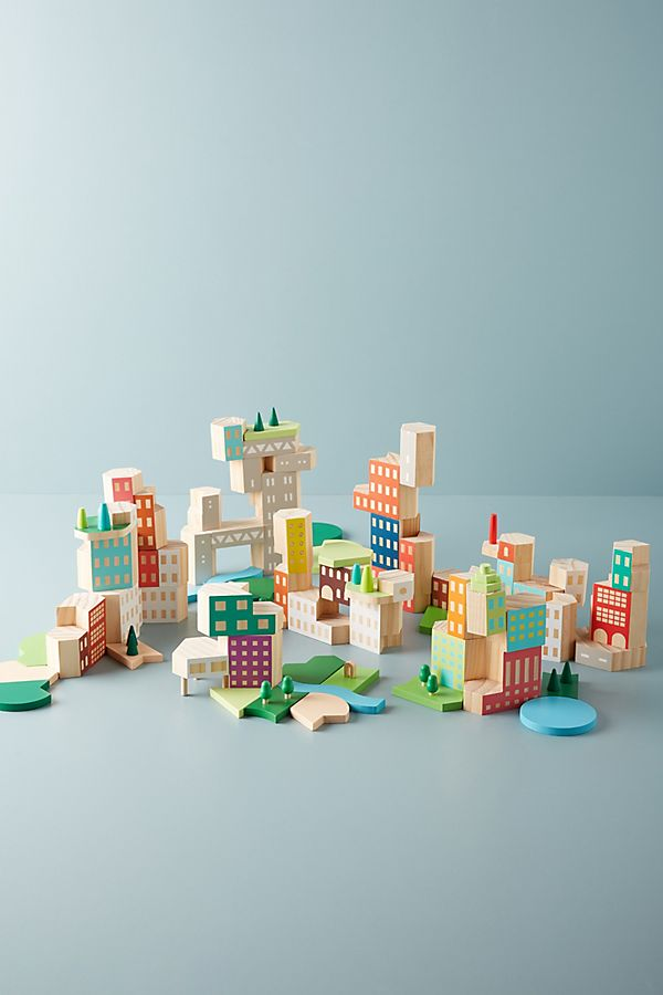 Slide View: 1: Big City Architecture Block Set