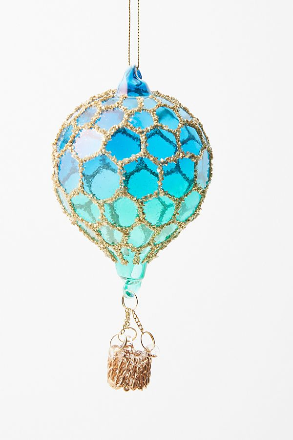Montgolfier Hot Air Balloon Ornament by Anthropologie