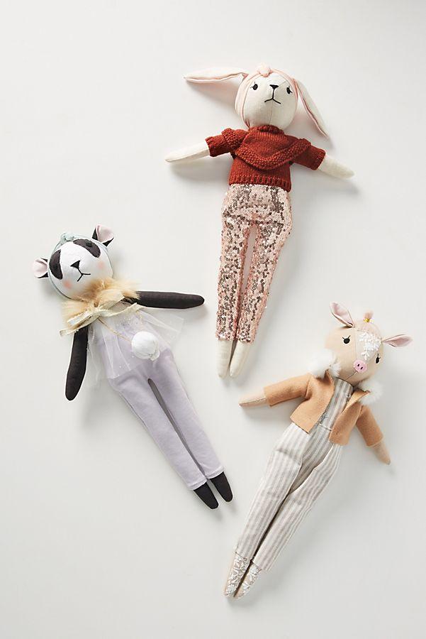 Slide View: 4: Wonderforest Girls Stuffed Animal