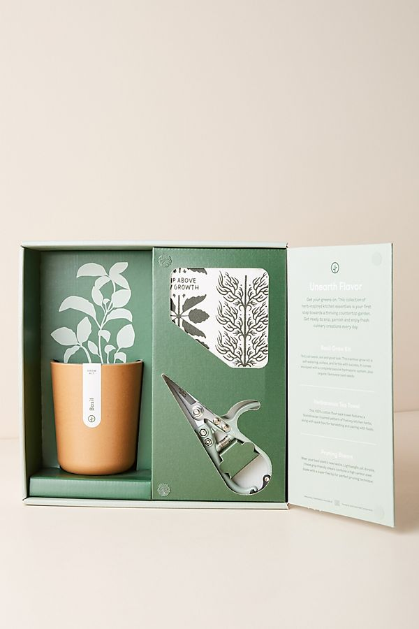 Slide View: 1: Modern Sprout Harvest Gift Set