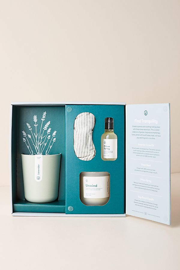 Slide View: 1: Modern Sprout Unwind Gift Set