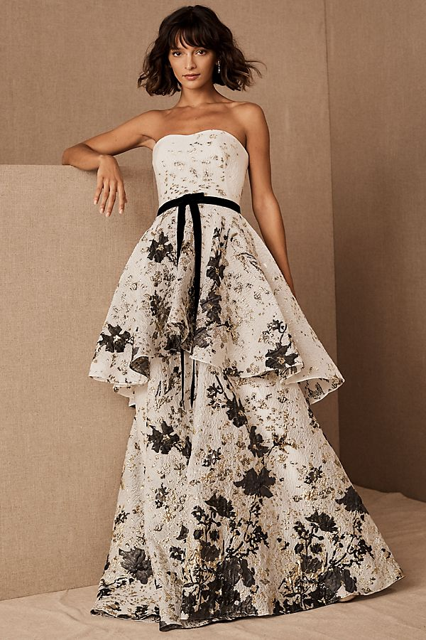Slide View: 1: Marchesa Notte Rydal Dress