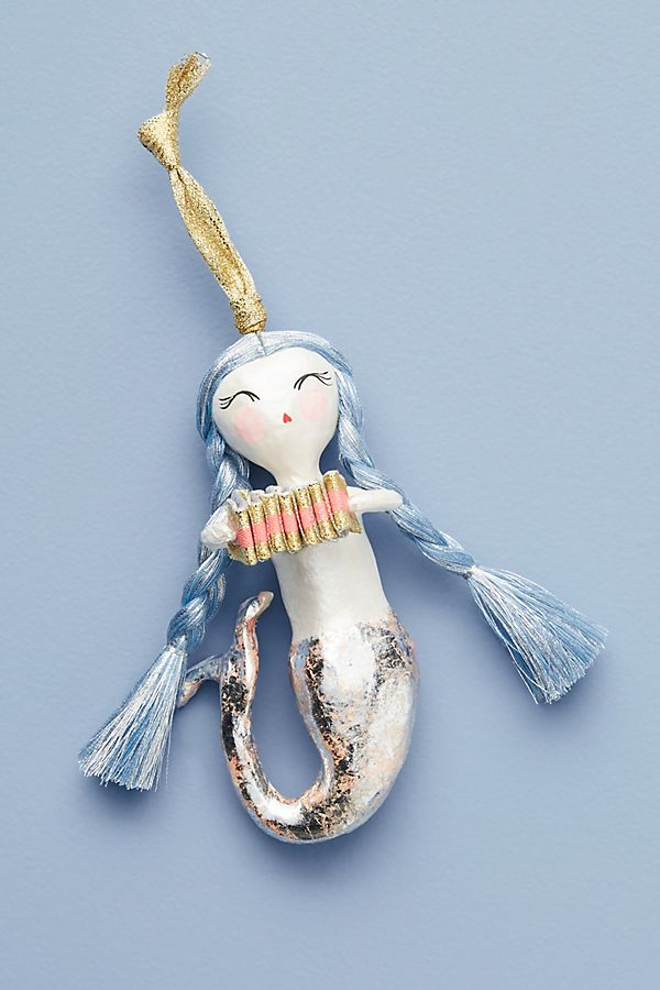 Slide View: 1: Mystical Mermaid Ornament