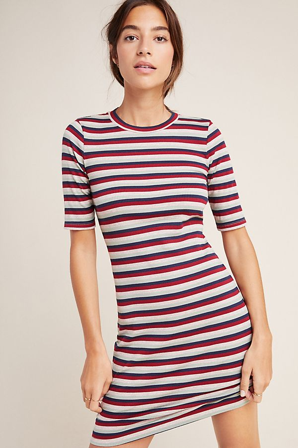Slide View: 1: Stateside Ribbed Tee Dress