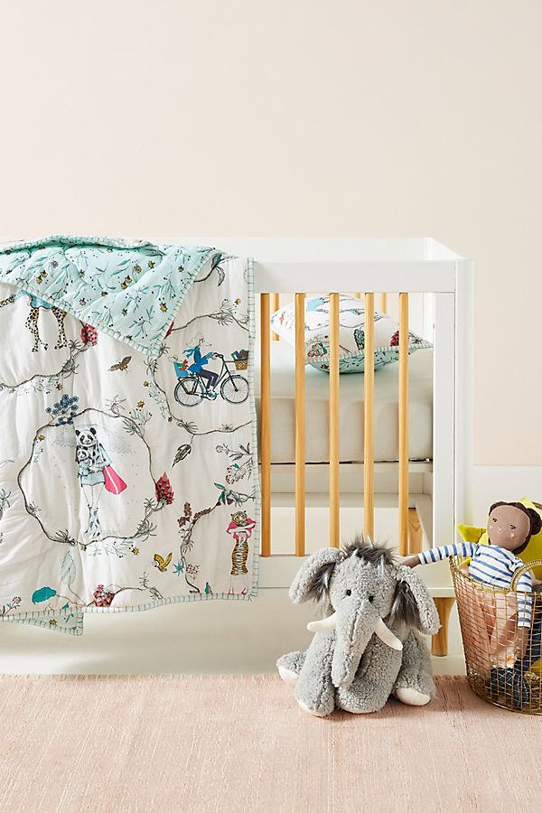 Slide View: 1: Florence Balducci Fantaisie Toddler Quilt