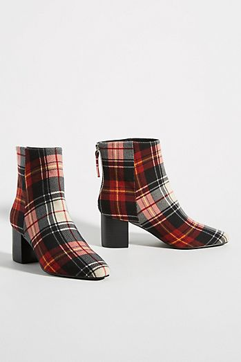 Sol Sana Florence Plaid Ankle Boots