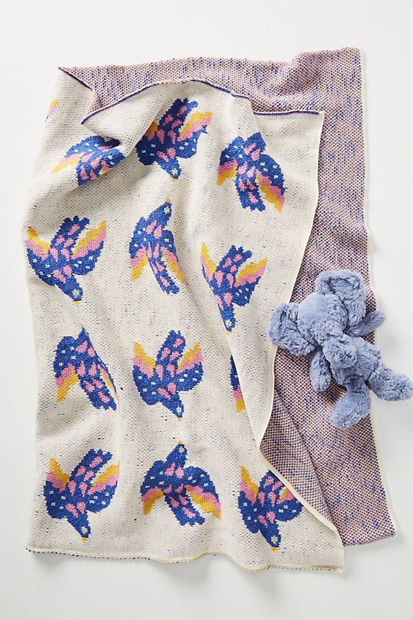 Slide View: 1: Songbird Baby Blanket