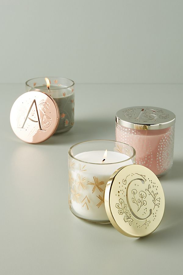 Slide View: 1: Lumi Monogram Candle