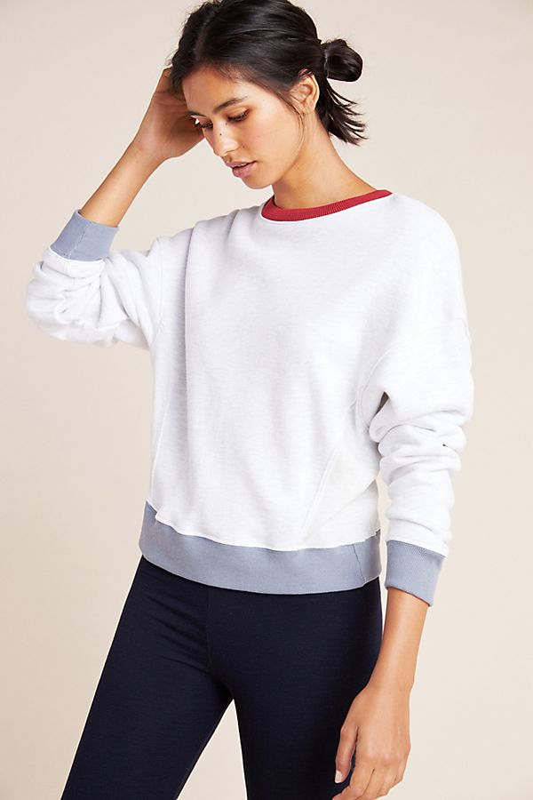 Slide View: 1: Sundry Colorblocked Pullover