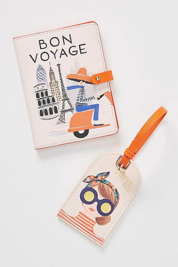 Bon Voyage Passport Holder Accessories under $50 Anthropologie