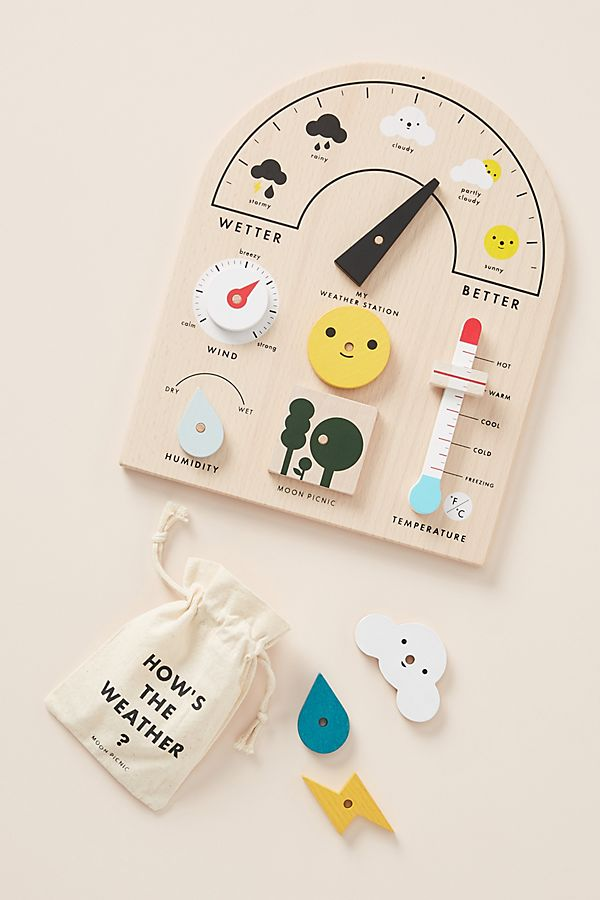 Slide View: 1: My Weather Station Toy Set