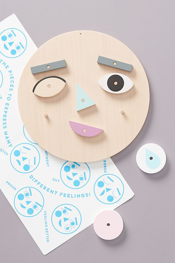Slide View: 1: Make A Face Toy Set