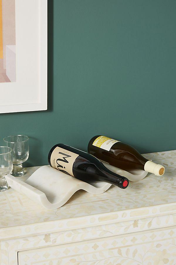 Slide View: 1: Robin Marble Wine Holder