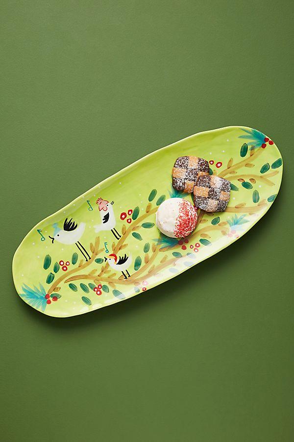 Slide View: 1: Scenic Woodland Serving Platter