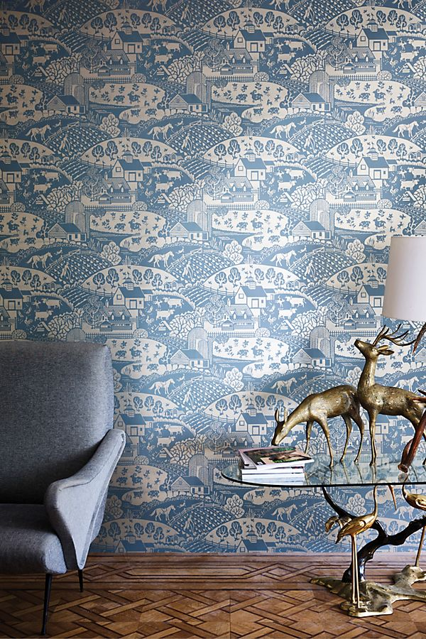 Slide View: 2: Farrow & Ball Gable Wallpaper