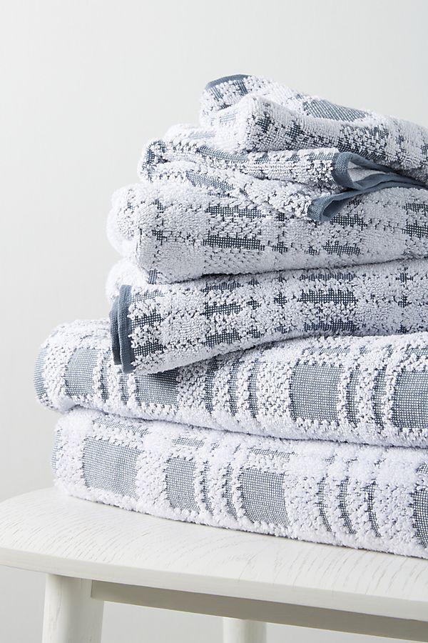 Slide View: 1: Tartan Towels, Set of 6