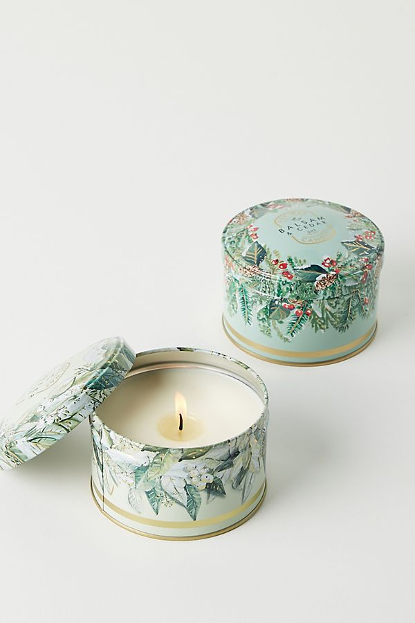 Slide View: 1: Good Natured Soy Holiday Tin Candle