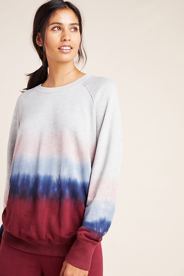 Sundry Dip Dyed Pullover by Sundry