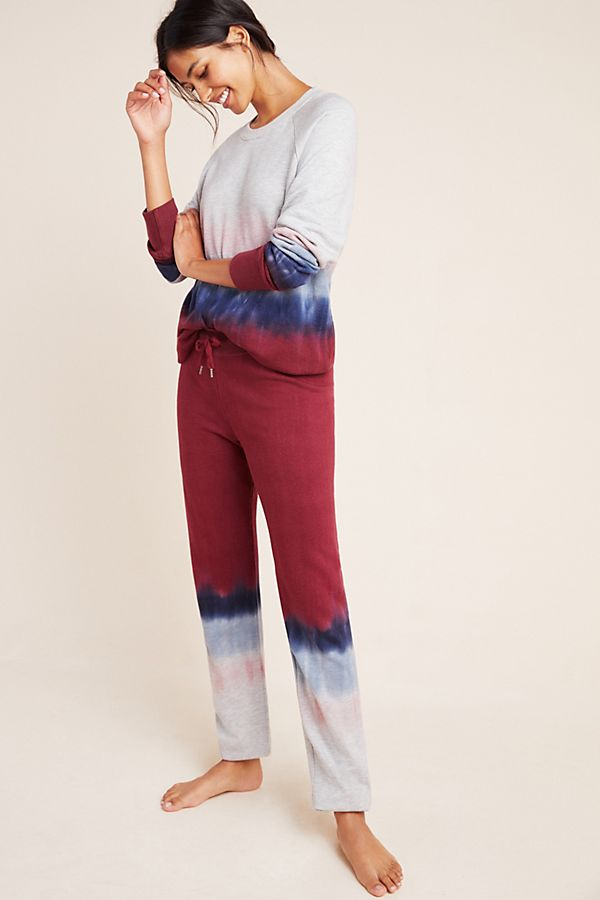 Slide View: 1: Sundry Dip-Dyed Pullover