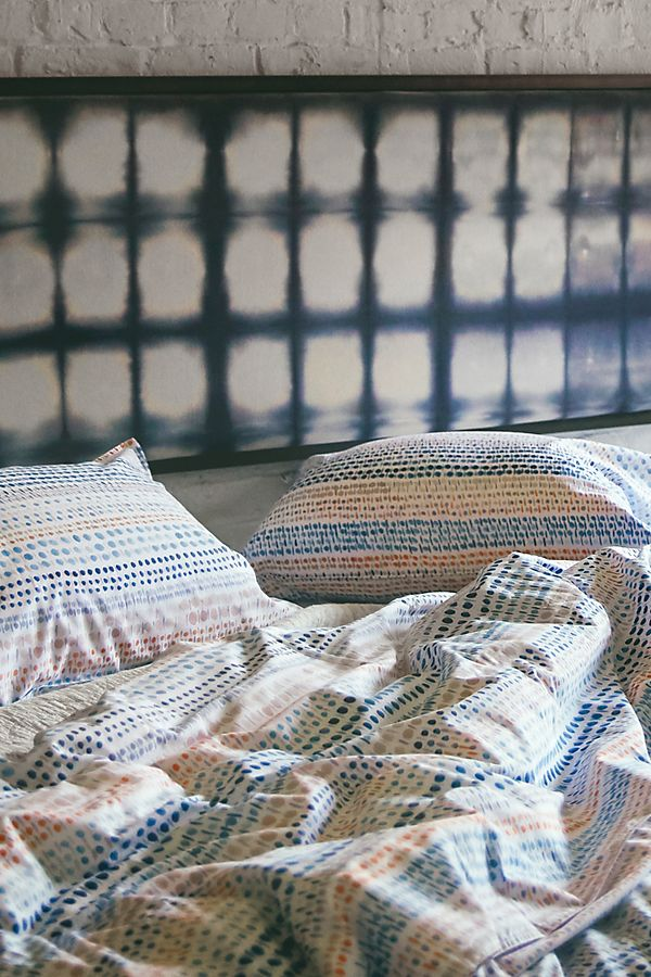 Slide View: 1: Rebecca Atwood Dotted Landscape Duvet Cover