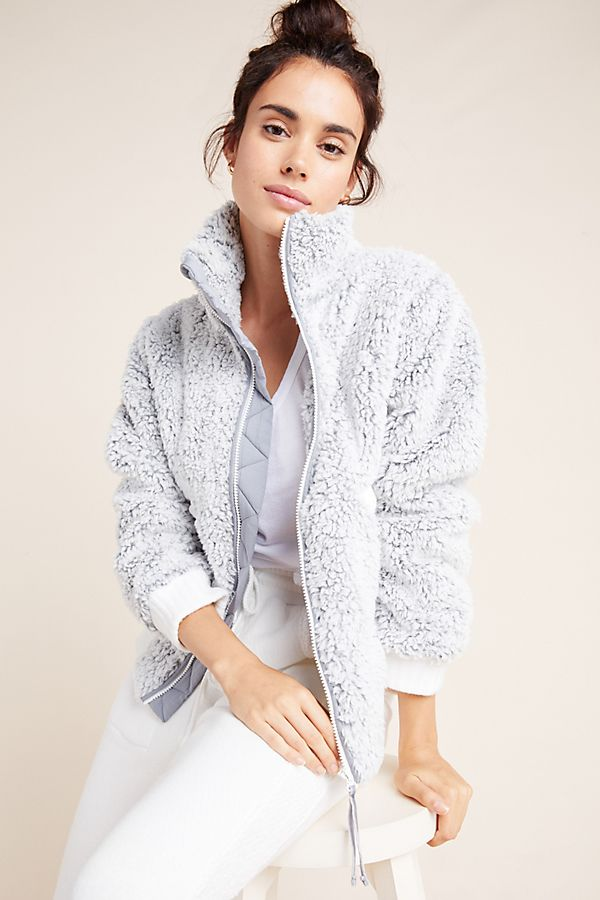 Slide View: 1: Whitney Sherpa Jacket