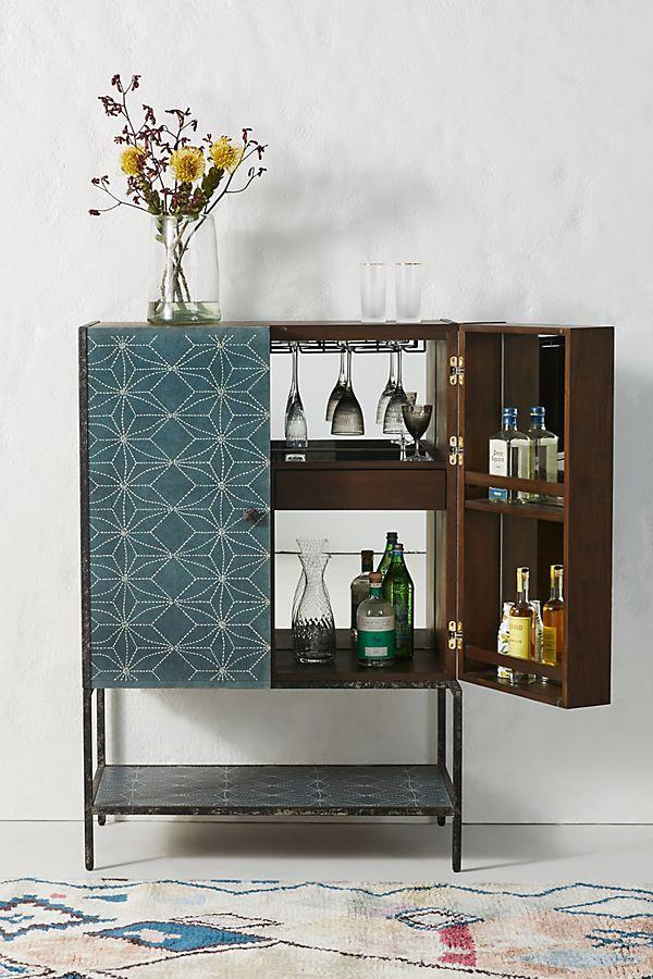 Slide View: 1: Boro Star Bar Cabinet